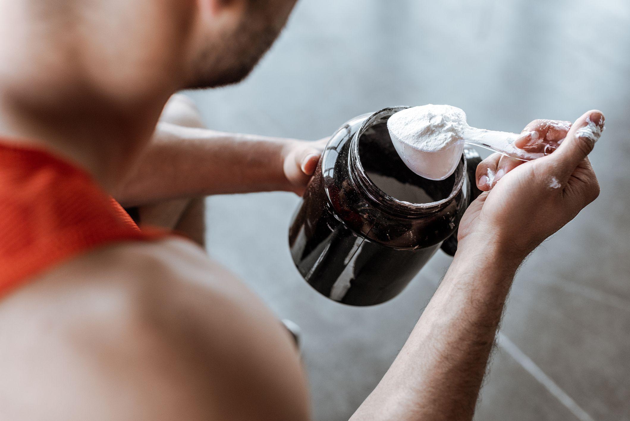 Casein giúp tăng cường cơ bắp hiệu quả.
