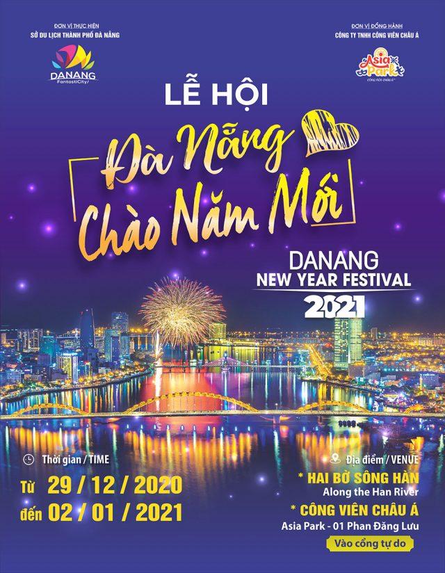 """Lễ hội """"Đà Nẵng – Chào năm mới 2021"""""""
