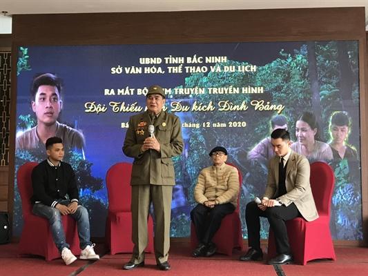"""Bộ phim """"Đội thiếu niên du kích Đình Bảng"""" chính thức được ra mắt"""