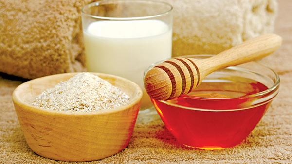 Mặt nạ yến mạch, mật ong và sữa chua