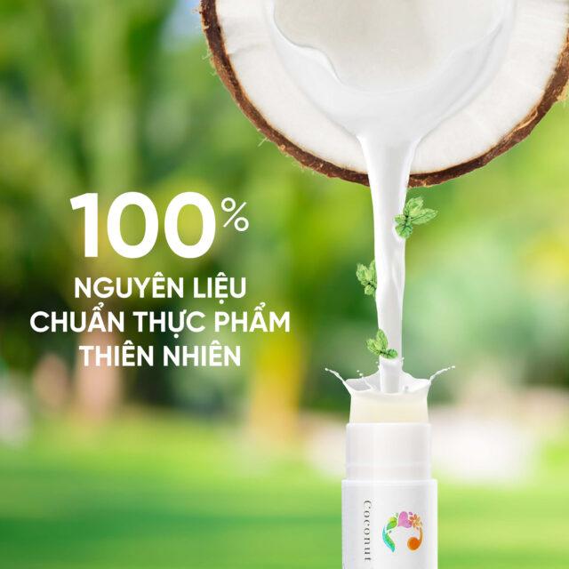 sản phẩm từ tự nhiên như dầu dừa nguyên chất
