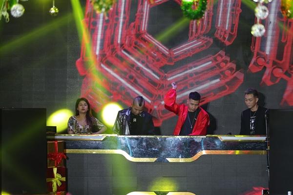 Top 4 thí sinh được lọt vào vòng chung kết DJ Star